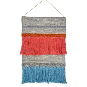 Other - Woven Tapestry Fiber Art Wall Hanging Decor